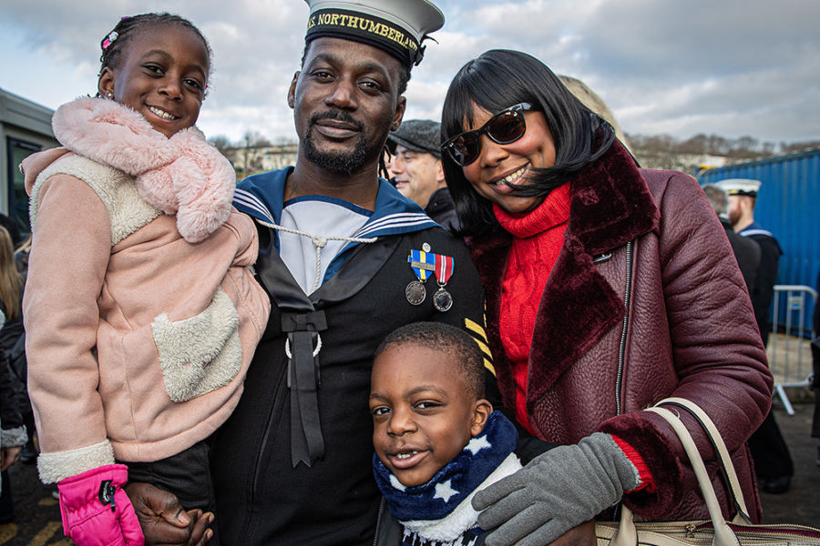 New support package for Royal Navy families