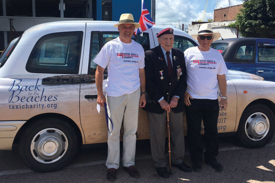 Helping WWII veterans look back and ahead